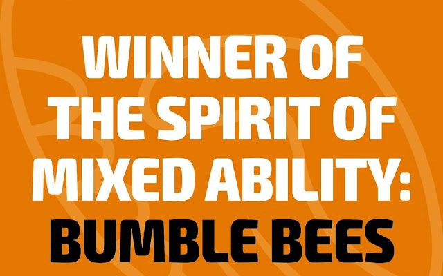 Bumbles Win Spirit Of Mixed Ability Trophy!
