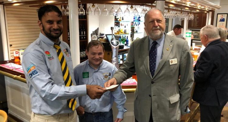 Rotary Club (Shipley) Supports Bumble Bees RUFC